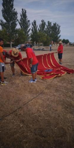 Día provincial de los pendones en Santervás de la Vega, Palencia (1)