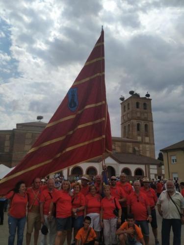 Día provincial de los pendones en Santervás de la Vega, Palencia (11)