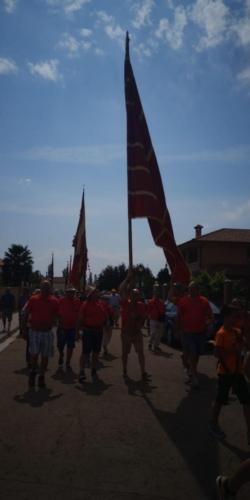 Día provincial de los pendones en Santervás de la Vega, Palencia (2)