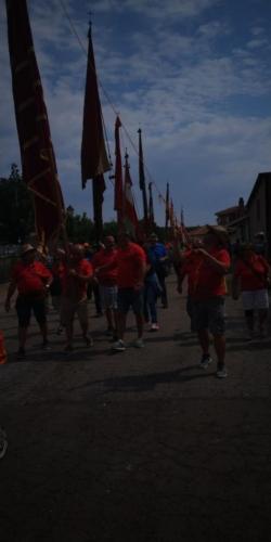 Día provincial de los pendones en Santervás de la Vega, Palencia (3)