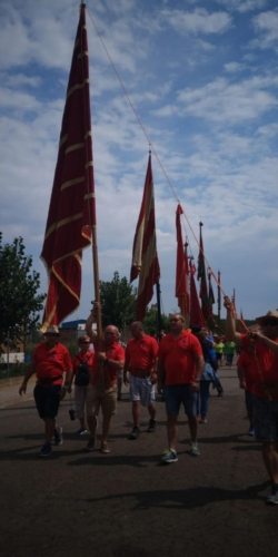 Día provincial de los pendones en Santervás de la Vega, Palencia (4)