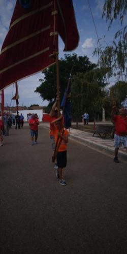 Día provincial de los pendones en Santervás de la Vega, Palencia (5)