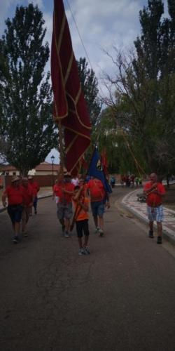 Día provincial de los pendones en Santervás de la Vega, Palencia (6)