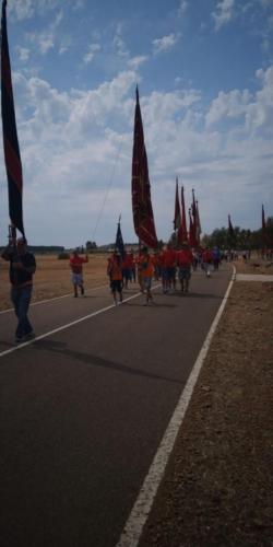 Día provincial de los pendones en Santervás de la Vega, Palencia (7)