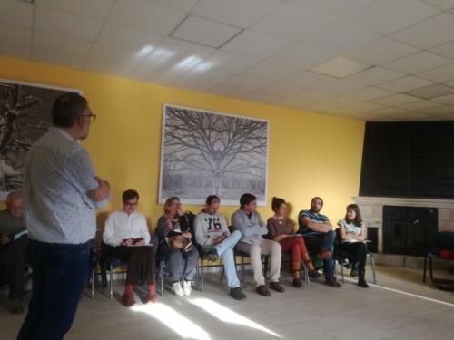 Encuentro de negocios en Villaespasa
